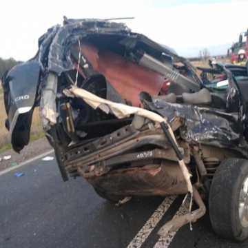 Śmiertelny wypadek na drodze Kamieńsk–Bełchatów. Sprawca był pijany