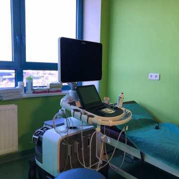 Nowoczesny echokardiograf w szpitalu w Radomsku