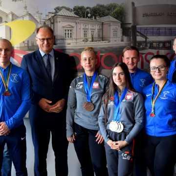 Prezydent spotkał się z zawodnikami UMLKS Radomsko