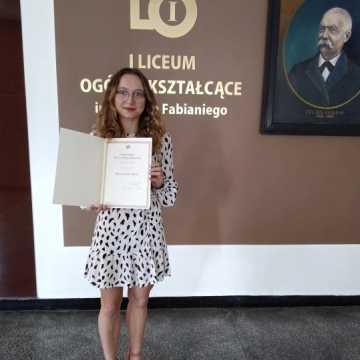 Uczennice I LO w Radomsku ze stypendiami Prezesa Rady Ministrów