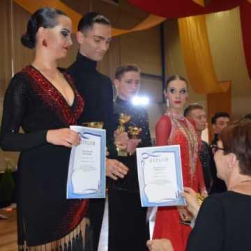 Turniej Tańca Towarzyskiego w hali sportowej w Radomsku
