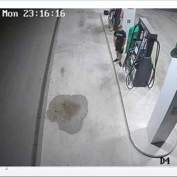 Policjanci z Radomska poszukują sprawcy kradzieży paliwa