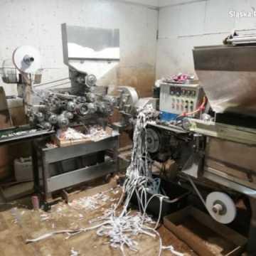 Policjanci z Częstochowy zamknęli fabrykę papierosów w pow. radomszczańskim