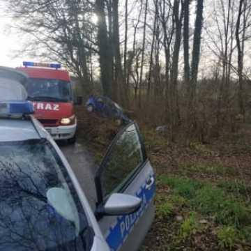 Wypadek w gminie Kodrąb. Ranny 19-latek