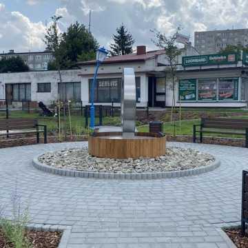 Skwer przy ul. Piastowskiej w Radomsku oficjalnie oddany do użytku