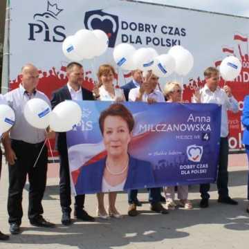 Anna Milczanowska rozpoczyna kampanię wyborczą