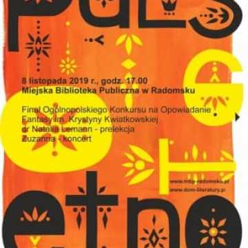 XIII Festiwal Puls Literatury w bibliotece w Radomsku