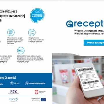 Radomsko wśród liderów wystawiania E-recept