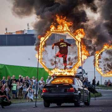 Pokazy monster truck w Radomsku