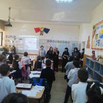 Nauczyciele z PSP nr 7 w Radomsku z wizytą w rumuńskiej Slatinie