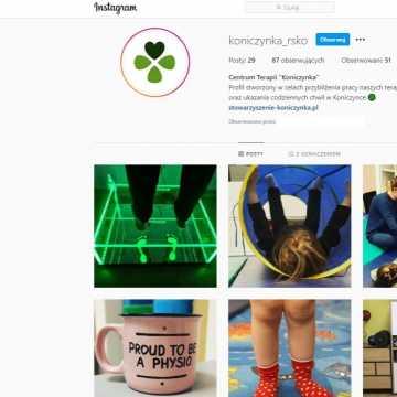 Obserwuj Centrum Terapii Koniczynka na Instagramie