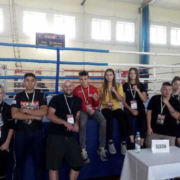 Grad medali radomszczańskich bokserów