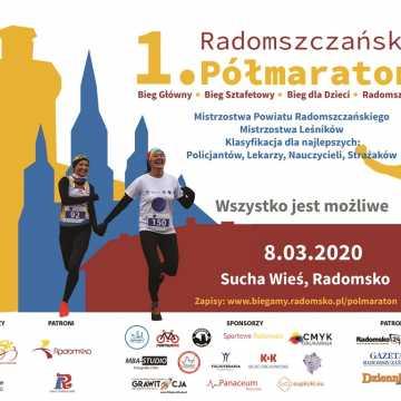 Zapisy na 1. Radomszczański Półmaraton