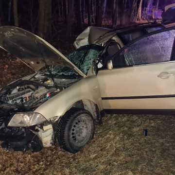 Gm. Przedbórz: Poważny wypadek w Wygwizdowie. Na miejscu jest śmigłowiec LPR