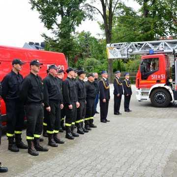Zasłużony strażak KP PSP Radomsko przeszedł na emeryturę