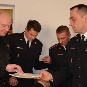 Wigilijne spotkanie u strażaków z Radomska