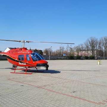 Radomsko: Policyjny helikopter w akcji