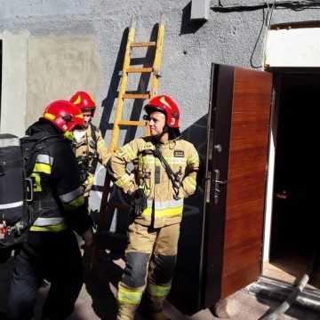 W mieszkaniu przy ul. Żeromskiego w Radomsku zapalił się bojler
