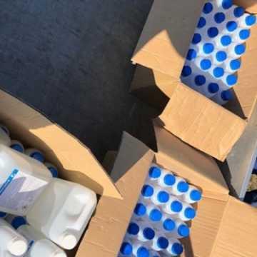 Płyny do dezynfekcji w darze