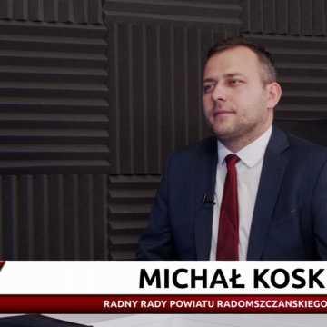 Staszczyk niezależnie. Michał Koski z Rady Powiatu Radomszczańskiego (PiS)