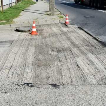 Kamieńsk: remont ulicy Wrzosowej