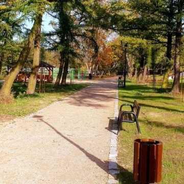 Park w Przedborzu już po rewitalizacji