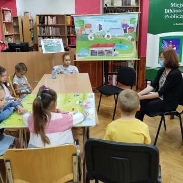 Warsztaty ekologiczne dla dzieci w Miejskiej Bibliotece Publicznej