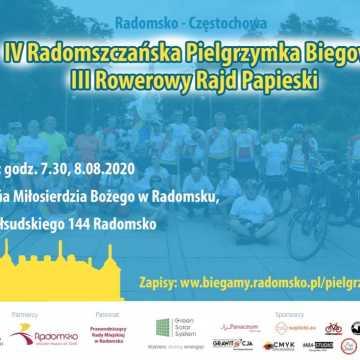 Zapisy na IV Radomszczańską Pielgrzymkę Biegową i III Rowerowy Rajd Papieski