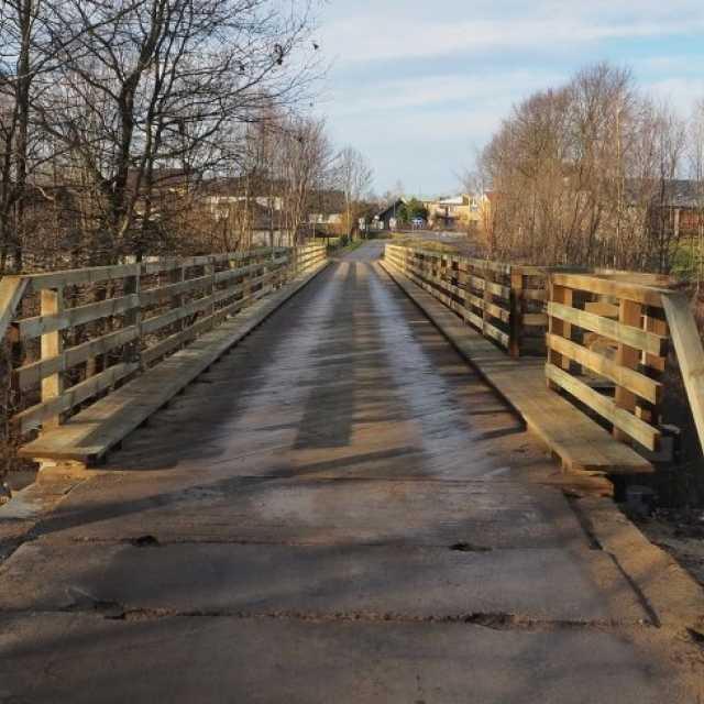 Belka uratuje most w Krzętowie