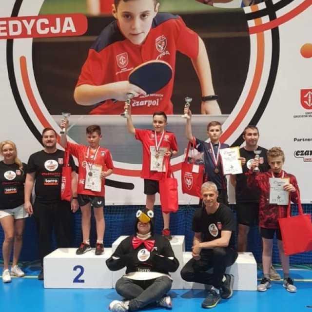Dwa medale tenisisty Sebastiana Musiała