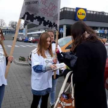 Happening antysmogowy uczniów ZSP1 w Radomsku