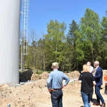 Kamieńsk: trwa przebudowa ujęcia wody
