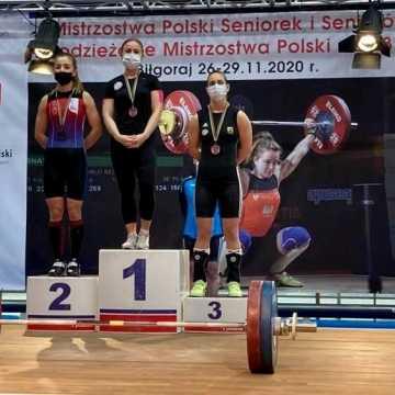 Medale Mistrzostw Polski w podnoszeniu ciężarów dla LKS Dobryszyce i UMLKS Radomsko