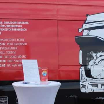 Mobilne badania Truckers Lab, czyli weź swoje zdrowie na warsztat