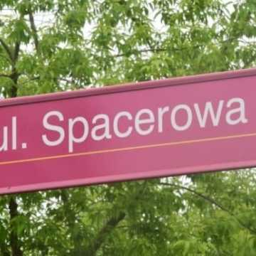 Remont na ulicy Spacerowej – zmiana organizacji ruchu