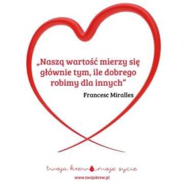 Walentynkowa zbiórka krwi w szpitalu w Radomsku