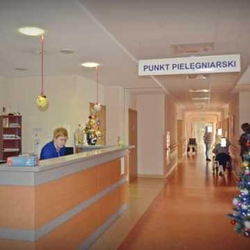 Pracowity Nowy Rok w szpitalu powiatowym