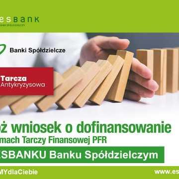ESBANK Bank Spółdzielczy obsługuje Tarczę Finansową