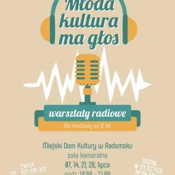 Zaproszenie na warsztaty radiowe do MDK w Radomsku