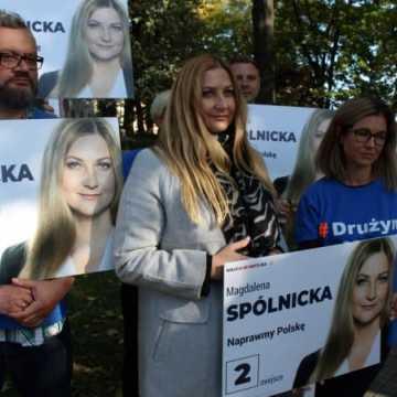 Magdalena Spólnicka podsumowała kampanię wyborczą