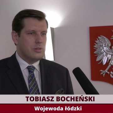 [W Temacie] Wojewoda łódzki Tobiasz Bocheński o drogowych inwestycjach i walce z koronawirusem