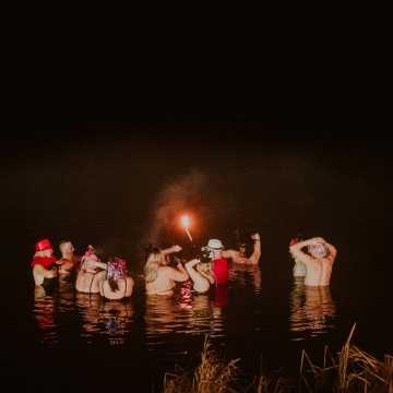 Sylwestrowo-noworoczne morsowanie