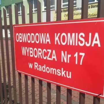 Eurowybory: Frekwencja w Radomsku do godz. 17.00 wyniosła 30,12%