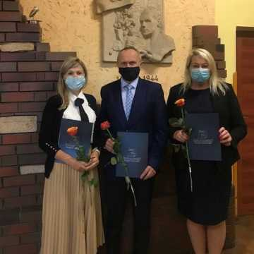Nagrodzeni nauczyciele z II LO w Radomsku