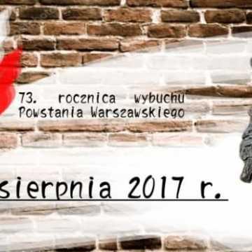 Obchody 73. rocznicy wybuchu Powstania Warszawskiego