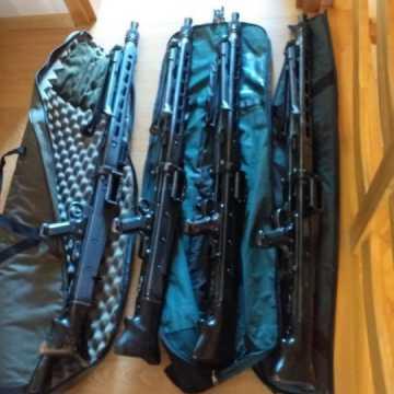 Policjanci rozbili grupę handlarzy bronią. Wśród zatrzymanych jest mieszkaniec Radomska
