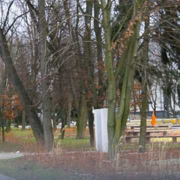 Park Świętojański w Radomsku zamknięty