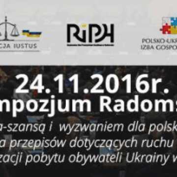 Sympozjum w Radomsku: Legalna migracja – szansą i wyzwaniem dla polskiego rynku pracy