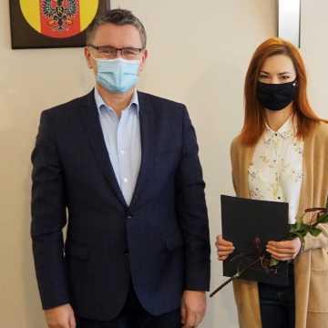 Zawodowy awans nauczycielki ZSE-E w Radomsku