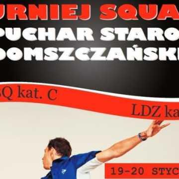 Zagrają w squasha
